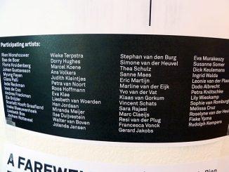 Afscheidstentoonstelling Rien Monshouwer @ KABK, Den Haag