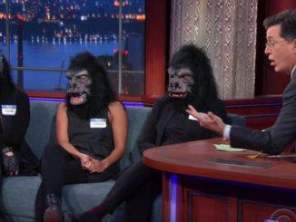 Guerrilla Girls @ Stephen Colbert