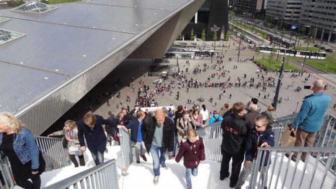 Opening TRAP @ CS Rotterdam / Groothandelsgebouw