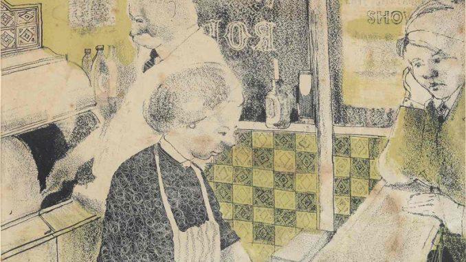 David Hockney bij de patatboer