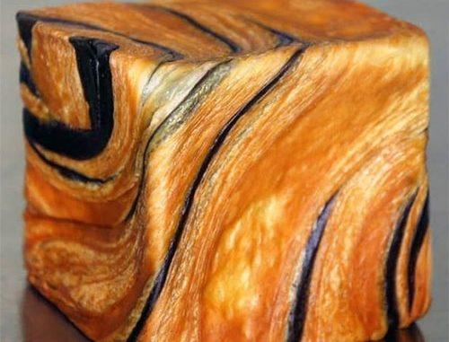 Croissant als kubus