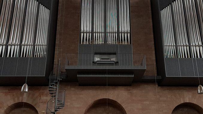 Vol op het orgel, Constantijnbasilica Trier