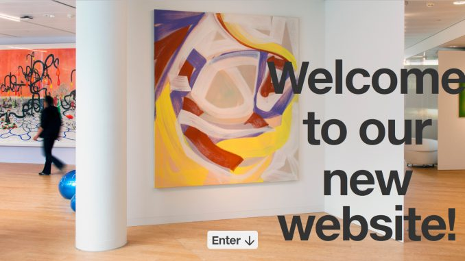 AkzoNobel Art Foundation, nieuwe website