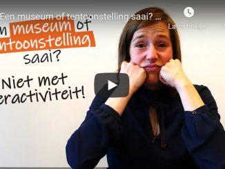 Onnozelheid van Ye Visual: 'Een museum of tentoonstelling saai? Niet met interactiviteit!'